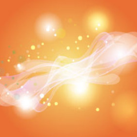 Orangy Background Glowing Wonderful Background - Free vector #214977