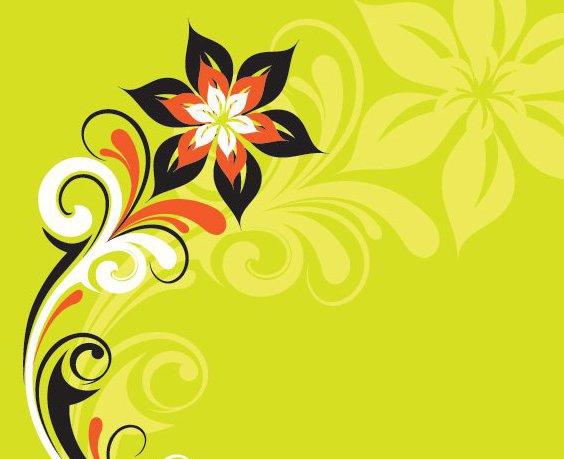 Planta estilizada - Free vector #215157