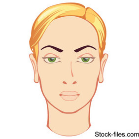 Beautiful Face Blonde - Kostenloses vector #215647