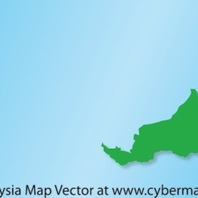Malaysia Map - Free vector #215697