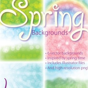 Spring Backgrounds - vector gratuit(e) #215767
