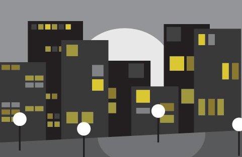 paisagem urbana - Free vector #216207