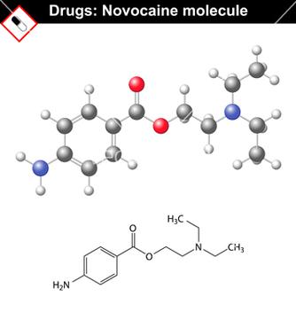 Free novocaine molecule vector - Free vector #216237