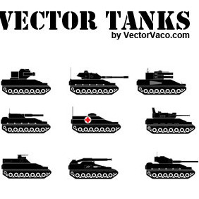 Vector Tanks - vector gratuit #216297