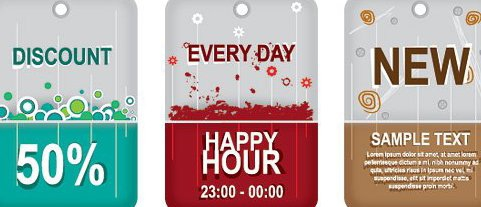 Promotions - Free vector #216377