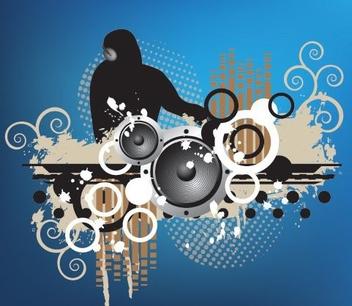 Disco DJ - Free vector #216477