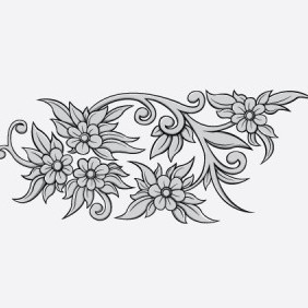 Free Floral Vector Sample - Free vector #216567