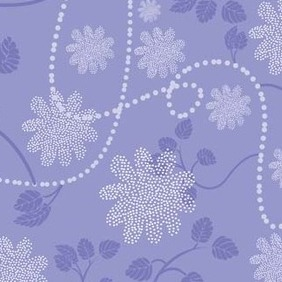 Floral Blue Background - Free vector #217077