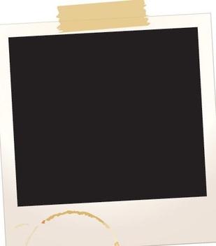 Polaroid Frame - vector #217137 gratis