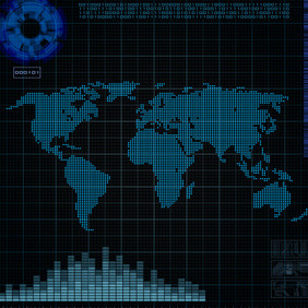 Map - vector #217167 gratis
