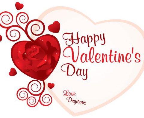 carte de la Saint-Valentin - vector gratuit #217227