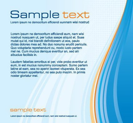 Corporate Template - Free vector #217277