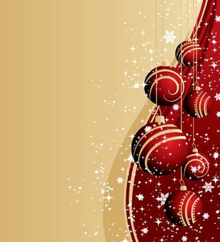 Christmas Card - vector gratuit #217547
