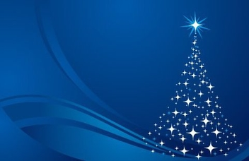 Christmas Tree Background - vector #217617 gratis