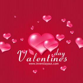 Valentine's Day Vector - Free vector #217877