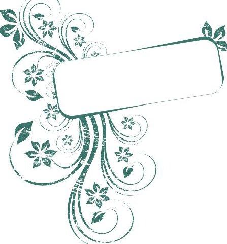 Autumn Green Frame - Free vector #218157