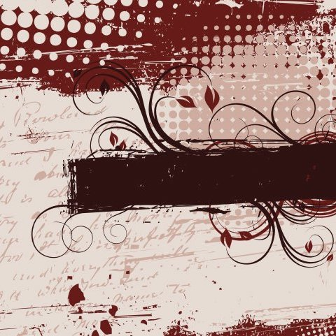 Decorative frame - Free vector #218437