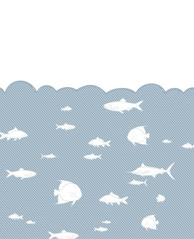 Peixe no mar - Free vector #218447
