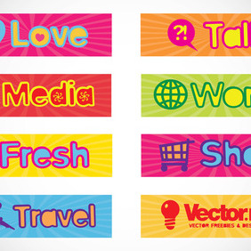 Web Banners - Free vector #218627