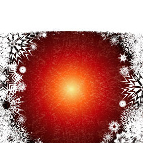 Xmas Grunge Vector Background - Free vector #218667