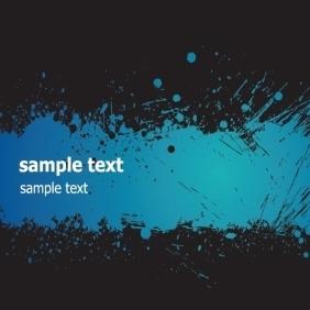 Blue Grunge Banner - Free vector #219137