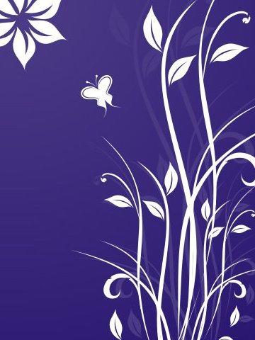 Paysage bleu - vector gratuit #219327