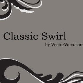 Classic Swirl - vector #219347 gratis