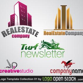 Logo Template Collection 01 - Kostenloses vector #219397