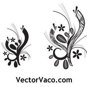Deco Vector Floral - vector gratuit #219437