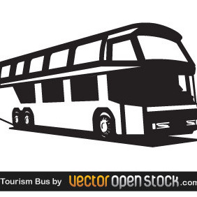 Tourism Bus - vector gratuit #219617
