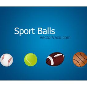 Vector Sport Balls - Kostenloses vector #219647