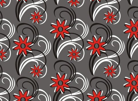 fond de fleur - vector gratuit #219727