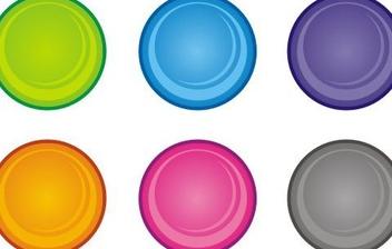 Circular buttons - Free vector #219737