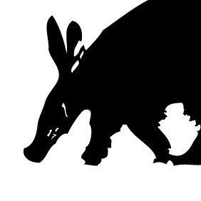 Aardvark - vector #219777 gratis