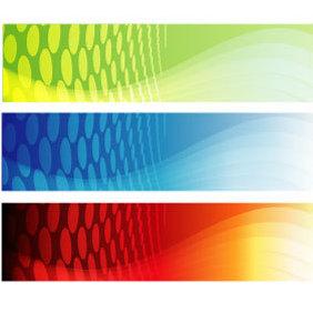 Vector Banner Set 4 - Kostenloses vector #219967