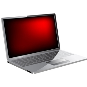 Vector Laptop - vector #220017 gratis