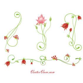 Floral Vector Design - Free vector #220067