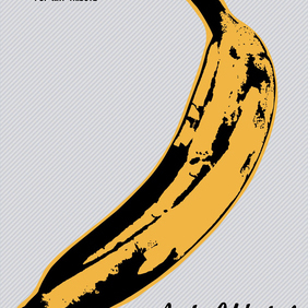 Velvet Underground Banana - Free vector #220137
