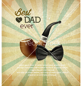 Free fathers day vector - Free vector #220467