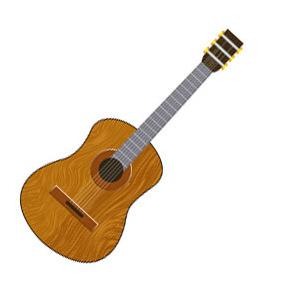 Vector Guitar - vector #220497 gratis