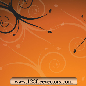 Floral Background Vector 2 - Free vector #220547