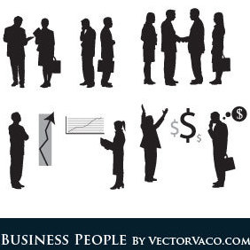 Business People - vector gratuit #220587