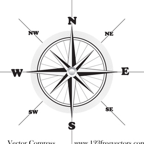 Vector Compass - vector gratuit #220737