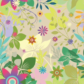 Colorful Seamless Pattern Background - Free vector #220987