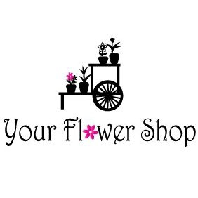 Flower Shop Logo - Free vector #221087