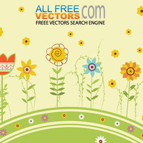 Summer Vector Background - Free vector #221147
