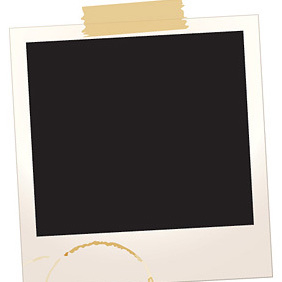 Polaroid Frame - бесплатный vector #221627