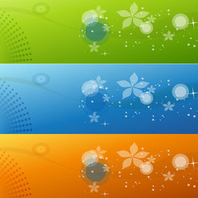 Color Banner Vector - Free vector #221767