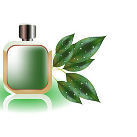 Perfume Bottle - vector gratuit #221857