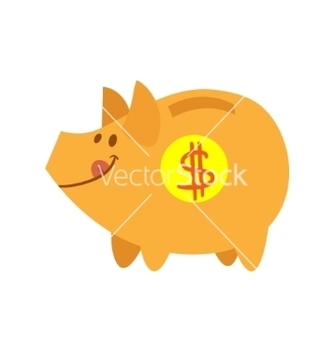 Free cute pig vector - Free vector #221877